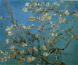 ゴッホ「花咲くアーモンドの小枝」 F8号